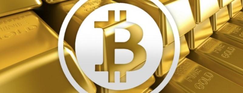 lingotes de oro con el logo de BTG de 2020