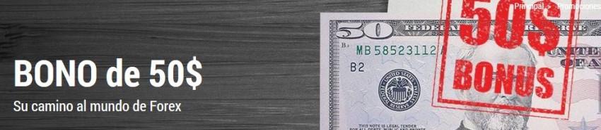 Bono $123 y bono $50 de FBS para traders de Colombia en Forex