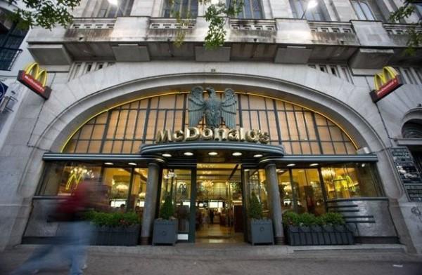 restaurante de mcdonalds en oporto, portugal