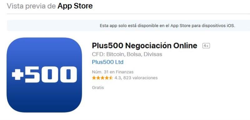 valoración y opiniones de la app de trading en México