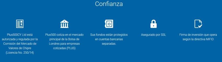 Plus500 es confiabe en México. En España está registrado en la cnmv como entidad regulada