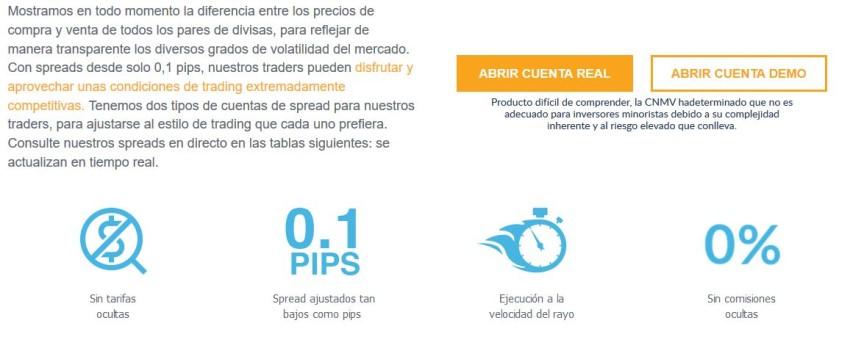 comisiones por invertir desde México