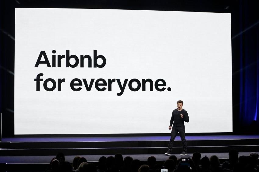 fundado de airbnb en el anuncio de la ipo